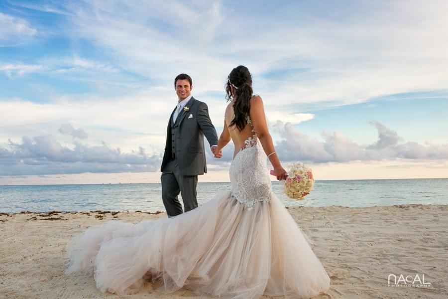 Monica & Neil -  - grand coral beach club wedding 17