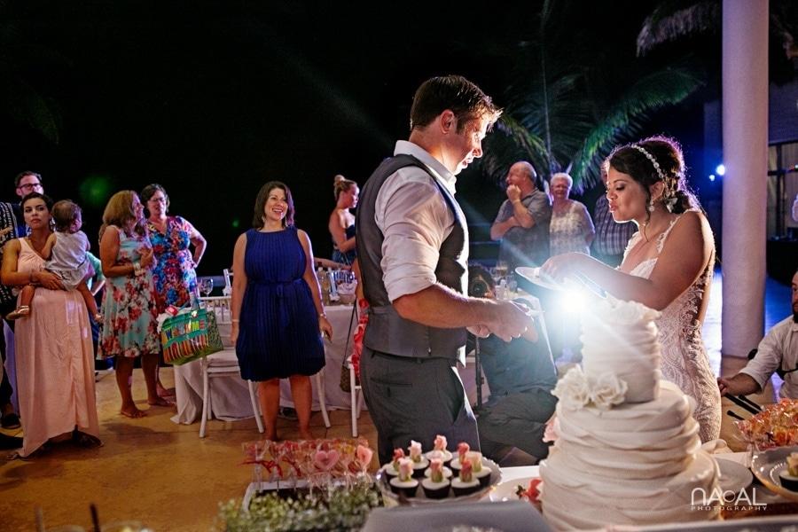 Monica & Neil -  - grand coral beach club wedding 35
