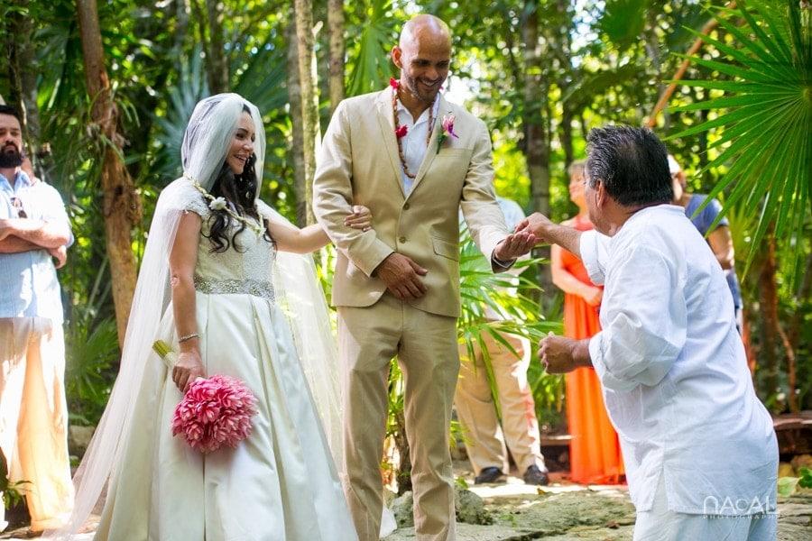 Intimate Cenote Mayan Wedding -  - Naal Wedding 65