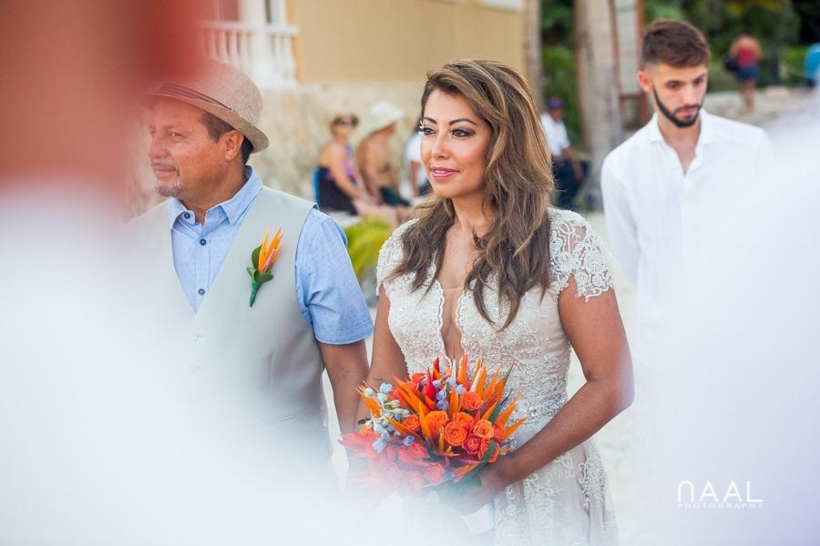 Boho Playacar Villa Beach Wedding by Naal Wedding Photography