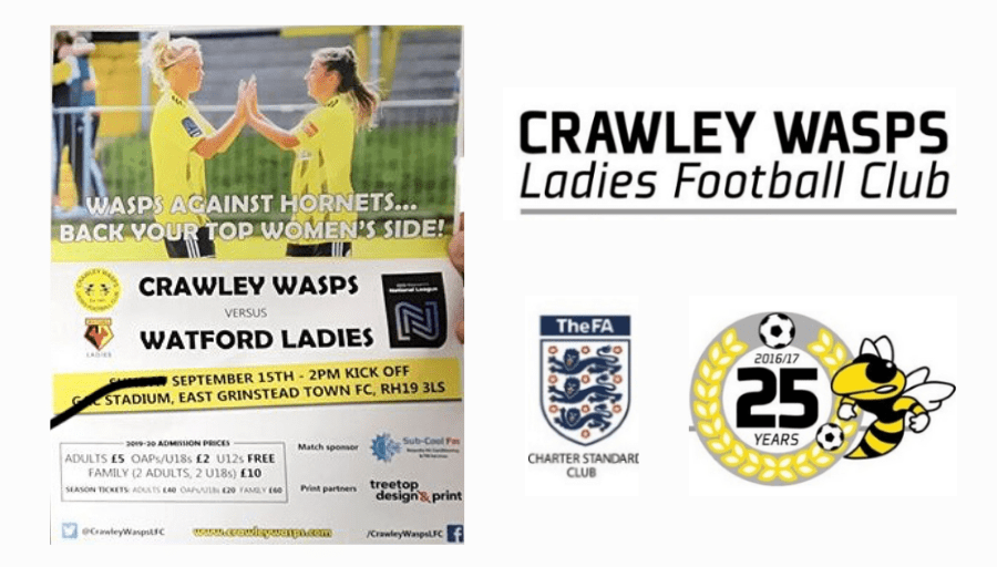 Crawley Wasps match sponsored by SubCoolFM