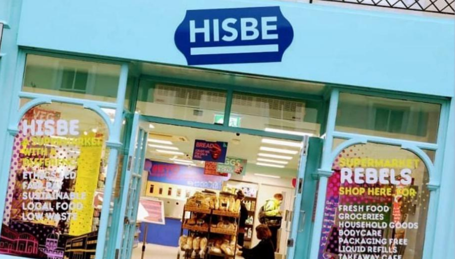 Hisbe ethical supermarket exterior - air conditioning solution by SubCoolFM