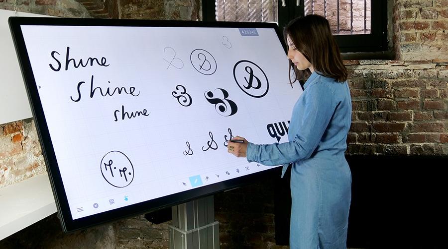 L'écran interactif tactile capacitif