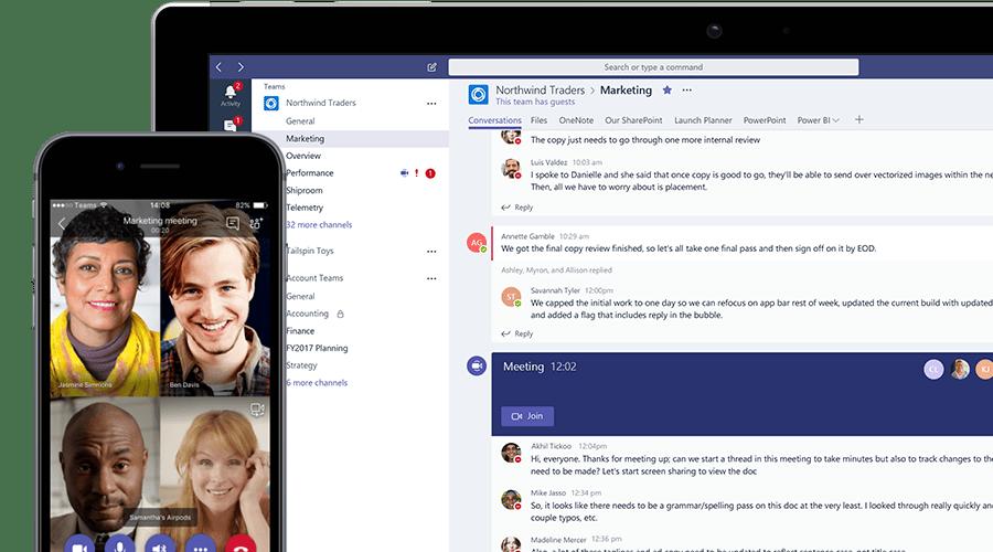 Microsoft Teams, le logiciel de visioconférence sur écran interactif avec le pack Office