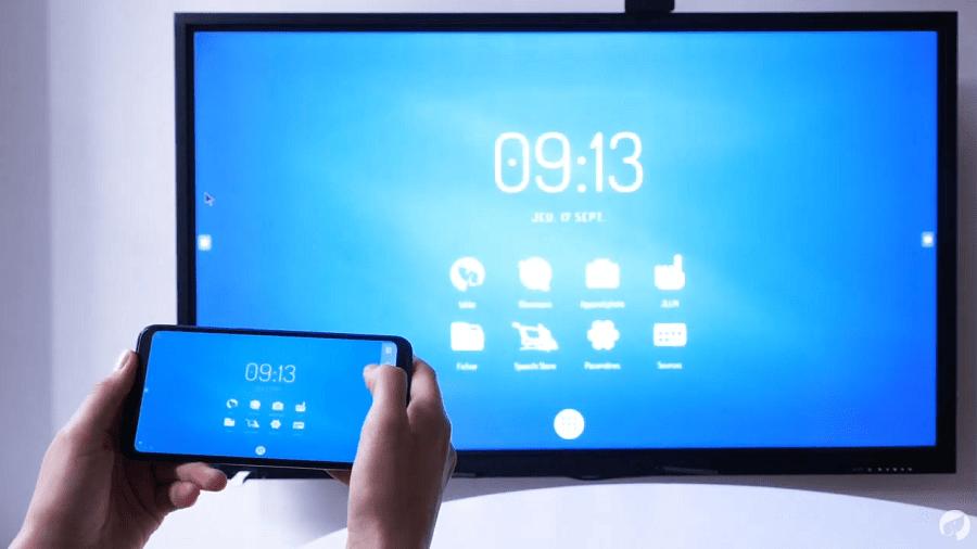 Contrôler un écran interactif depuis un Smartphone avec EShare