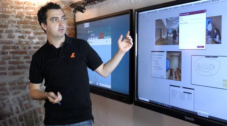 formation des enseignants aux écrans interactifs tactiles