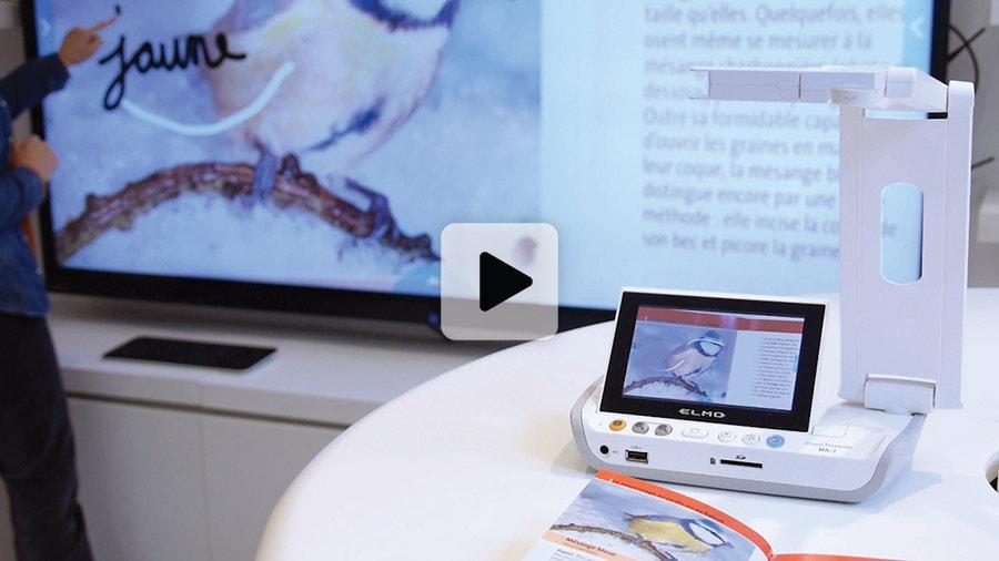 Visualiseur sur batterie et sans fil