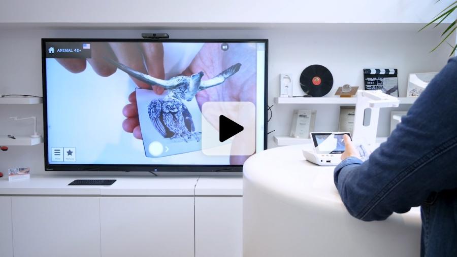 visualiseur pour coupler écran interactif école