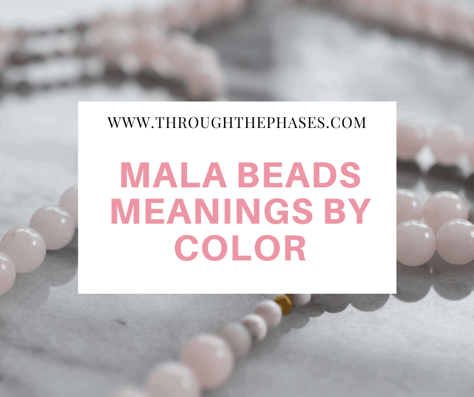 mala beads meanings by color