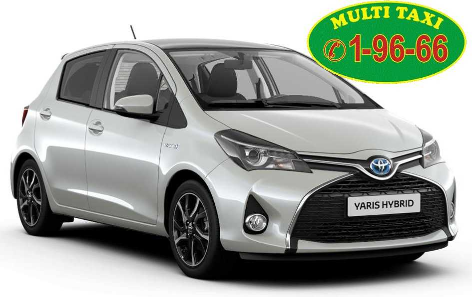 nowa Toyota Multi Taxi