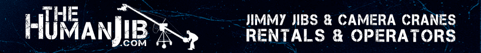 The Human Jib - Jimmy Jib Rentals & Jib Operators - Jib Rentals and Jib Operators for Film, Broadcast, and Live Events * Providing Jib Operator Services Across America for nearly 25 Years