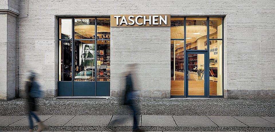 TASCHEN Store Berlin Copyright: Photo: Mark Seelen