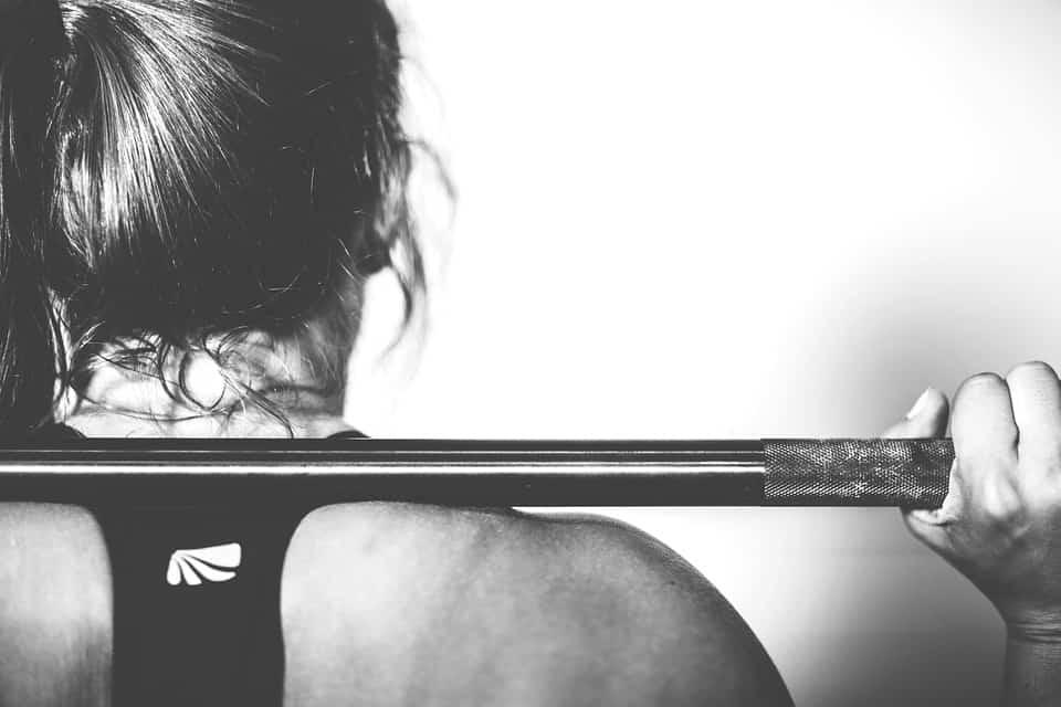 strong upper body girl