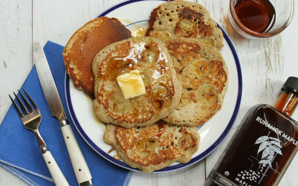 Buckwheat Pancakes by Runamok Maple