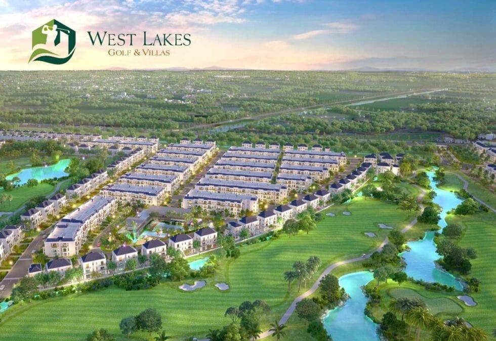 Sân golf west lakes với 27 hố chuẩn PGA