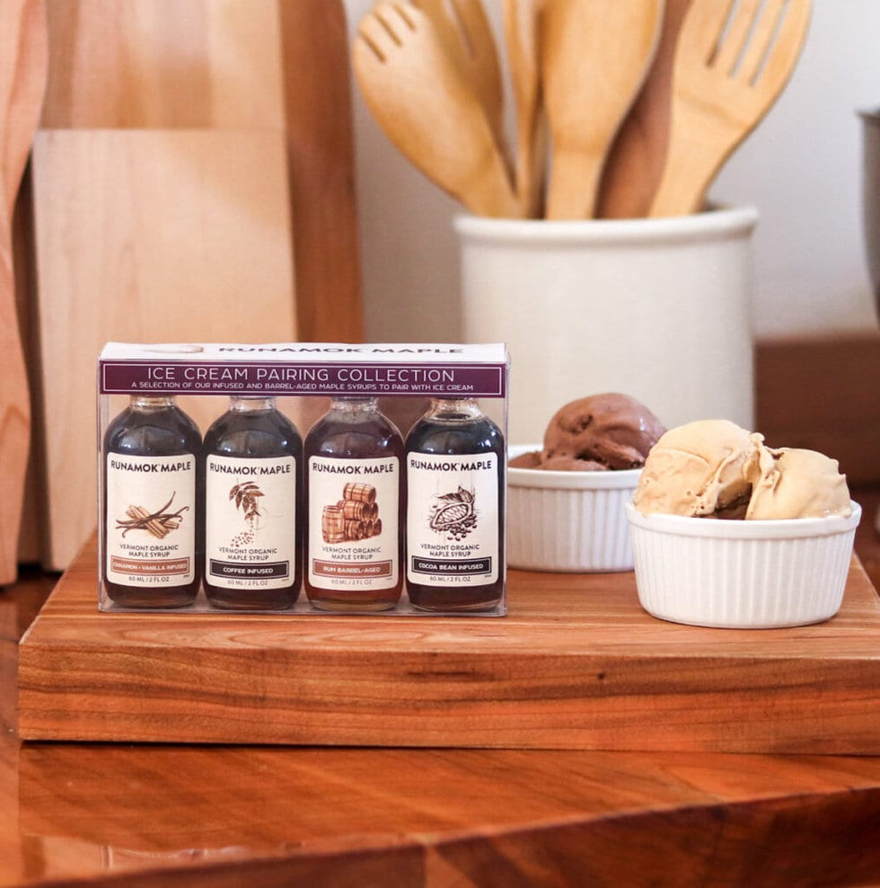 Maple Syrup Ice Cream Pairing Collection