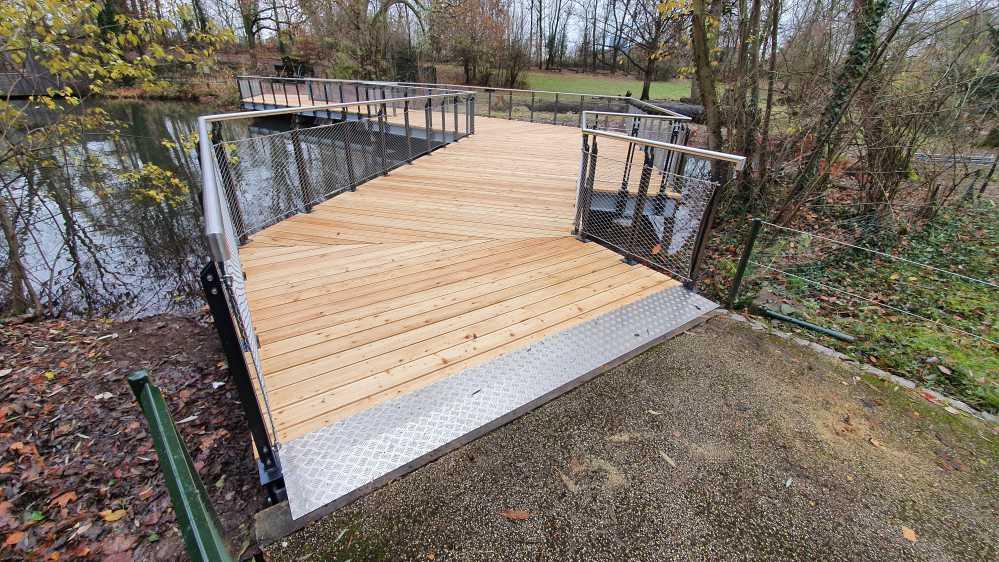 Brückenbau - Tierpark - Basel-6