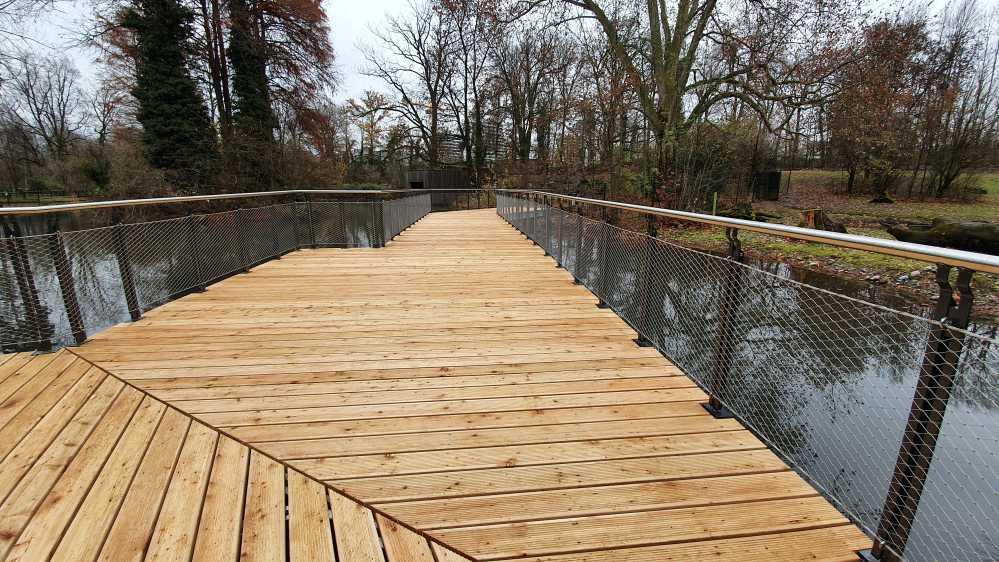 Brückenbau - Tierpark - Basel-7