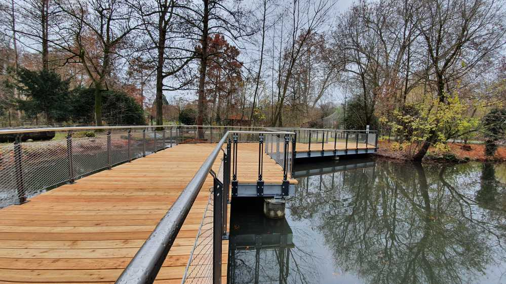 Brückenbau - Tierpark - Basel-8