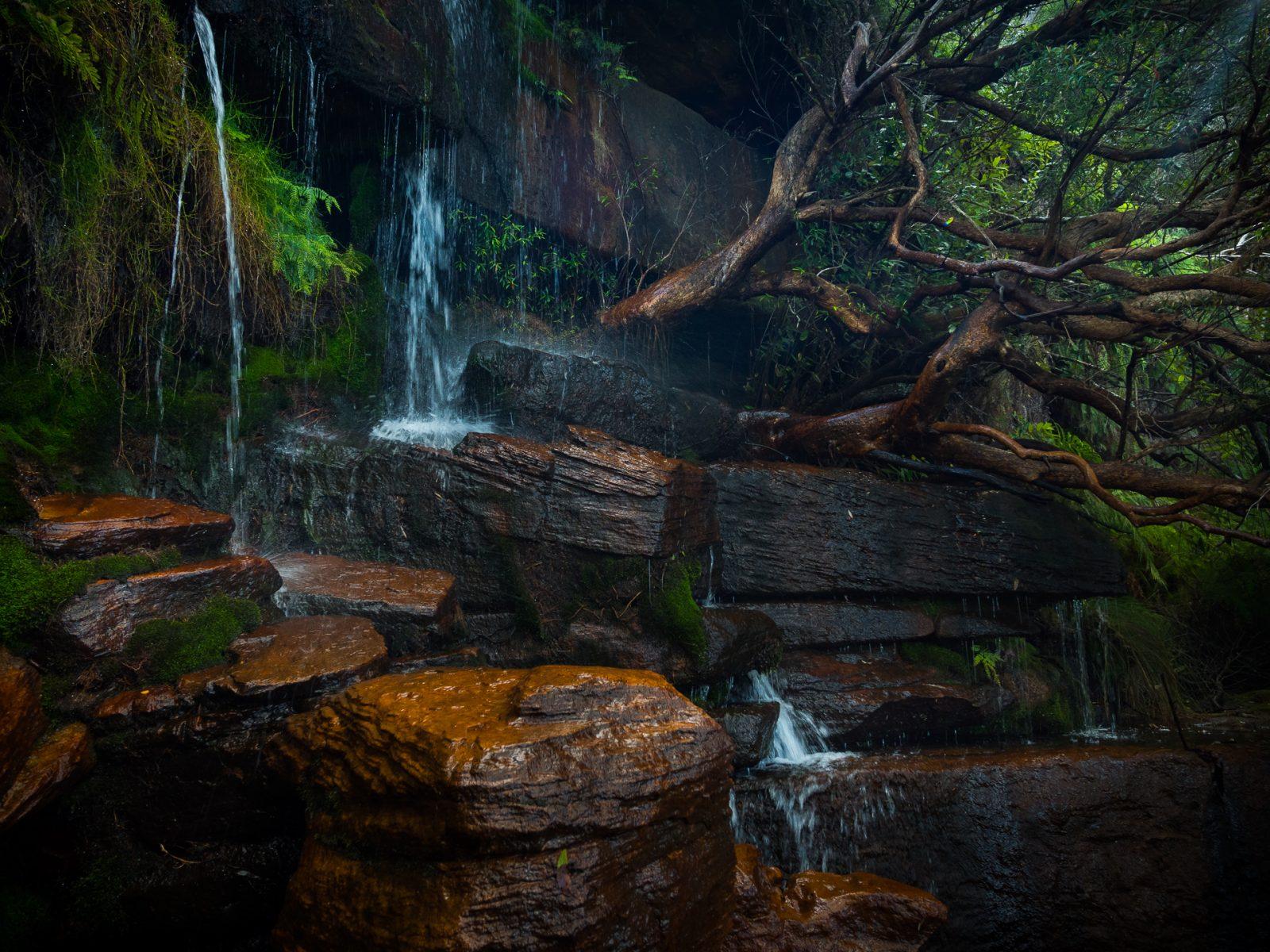 Elvina Bay Waterfall