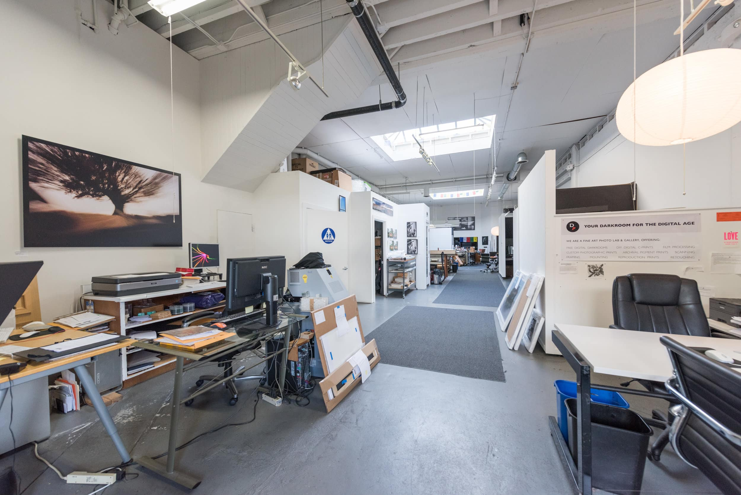 Come visit our beautiful, light-filled lab space in the South of Market (SOMA) district.