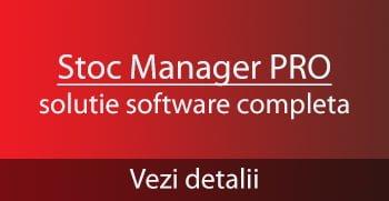 Stoc Manager Pro - pachet complet vanzare gestiune facturare
