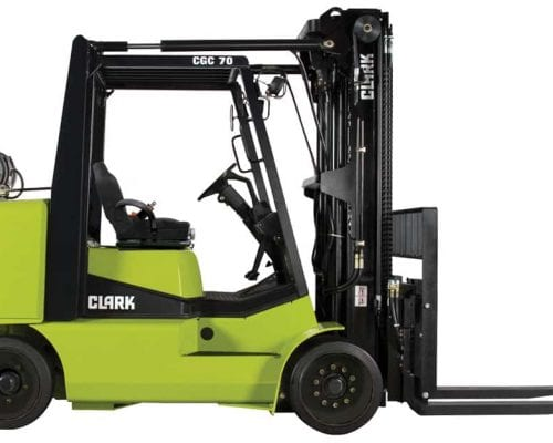 Compact forklift with LPG drive CGC40-70 (4)