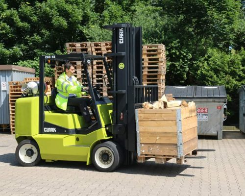 Compact forklift with LPG drive CGC40-70 (6)