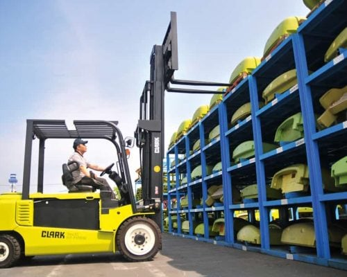 Electric four-wheel forklift GEX40-50 (5)