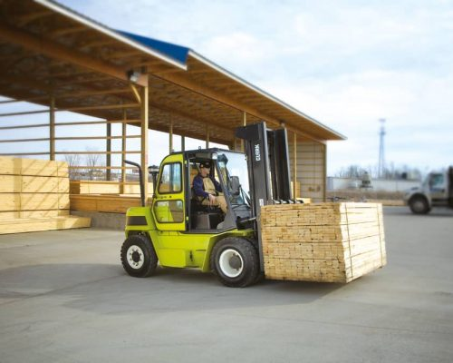Forklift with diesel or LPG drive C60-80 (3)