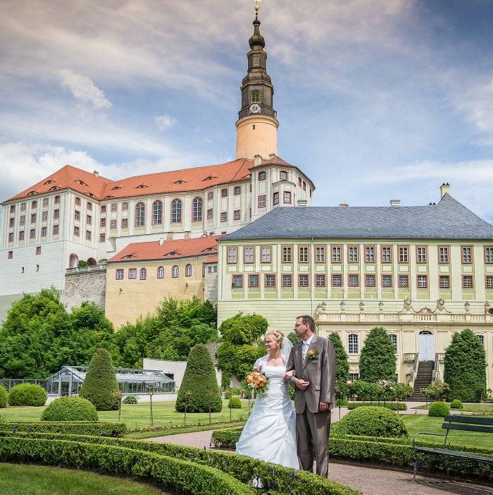 Hochzeit auf Schloss Weesenstein