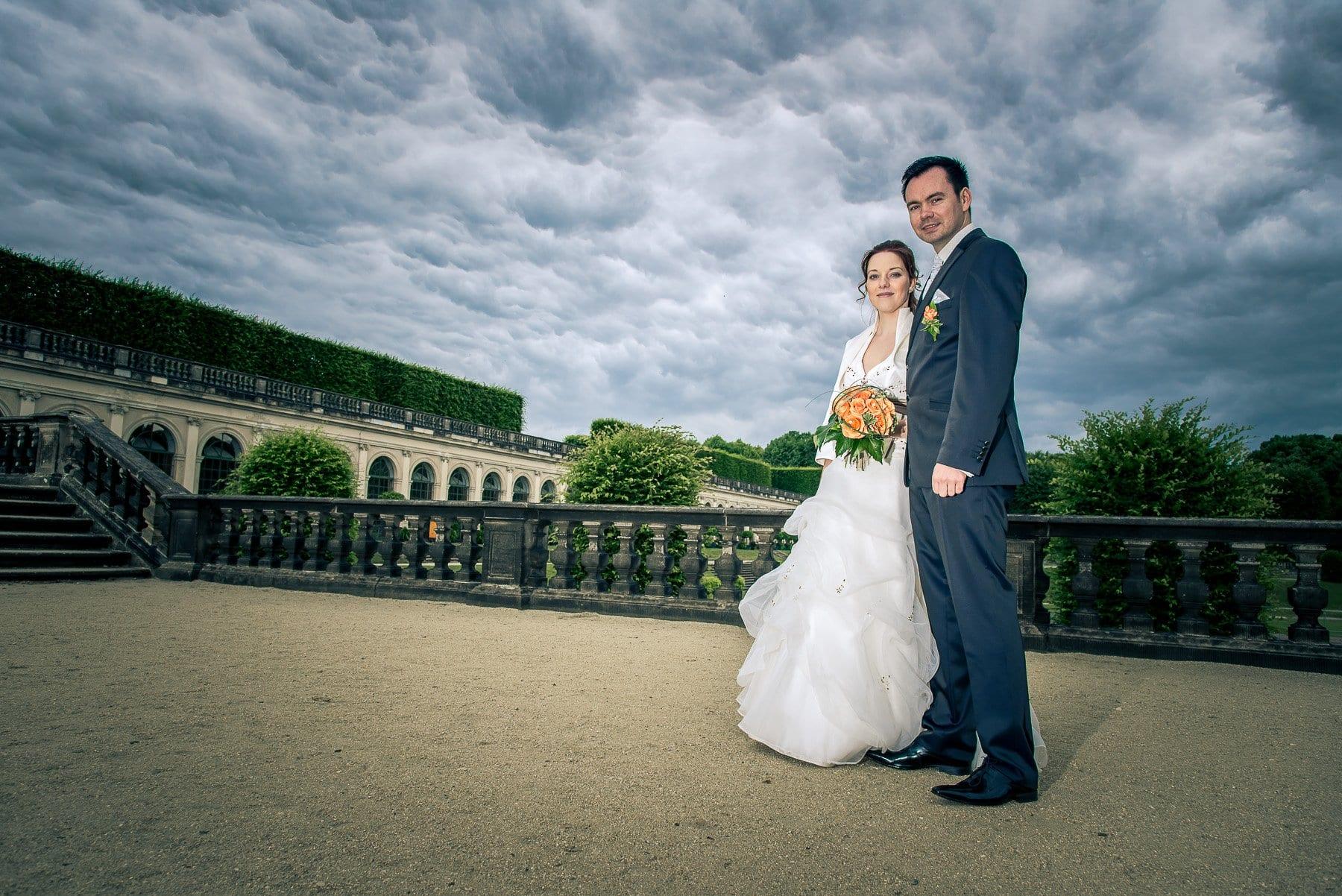 Hochzeit im Barockgarten Großsedlitz