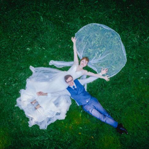 HochzeitsFoto Drohne Dresden