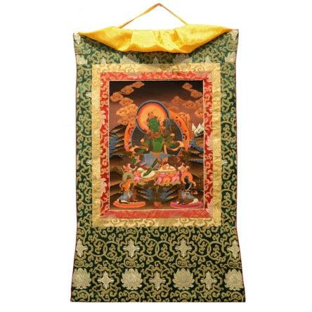 Thangka Grüne Tara