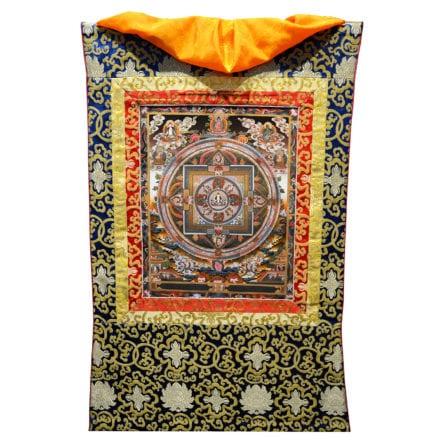 Thangka Zinresi / Avoloketeshowra Mandala