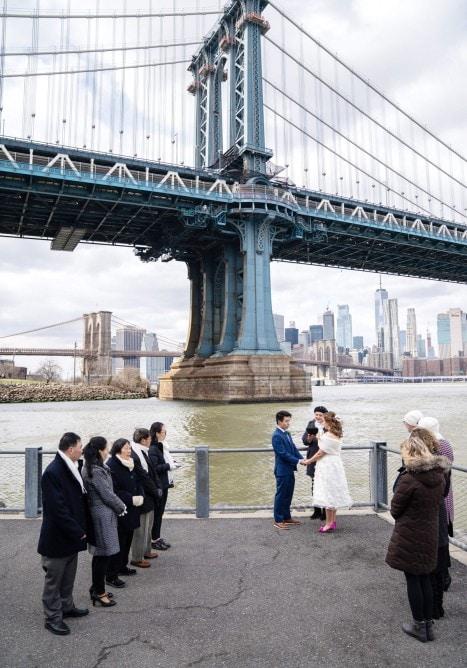 Photo 3 Cathy and Alan Dumbo Brooklyn Wedding in New York City