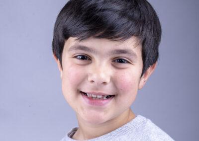 kids headshot photography