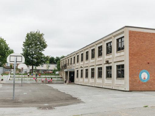Mur de soutènement – École Paul VI