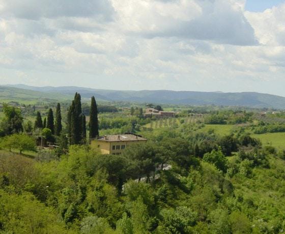 Voyage vélo route Toscane Italie cyclotourisme