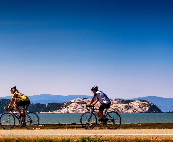 voyage vélo - bas saint laurent - saint laurent à vélo - ekilib - voyage vélo en liberté