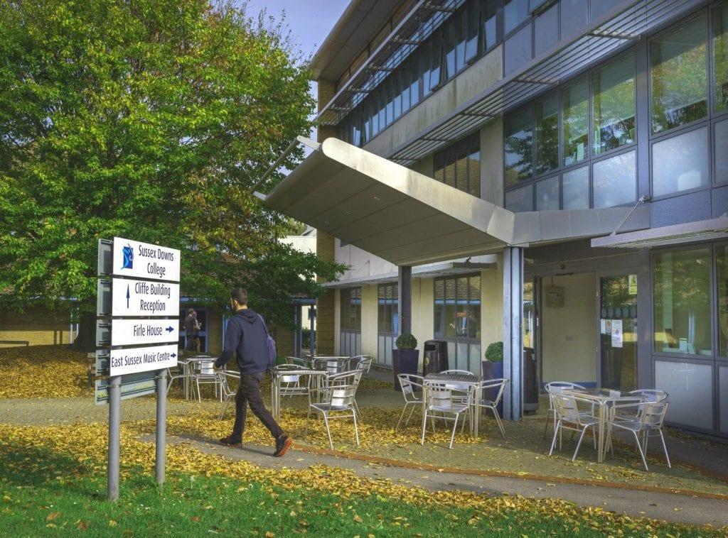 Anglais au East Sussex College