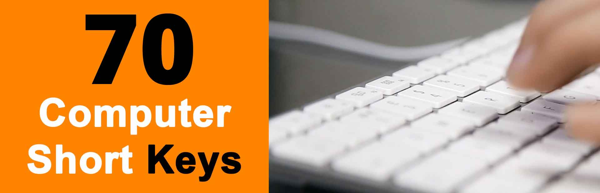 Computer Shortcut Keys Improve Productivity