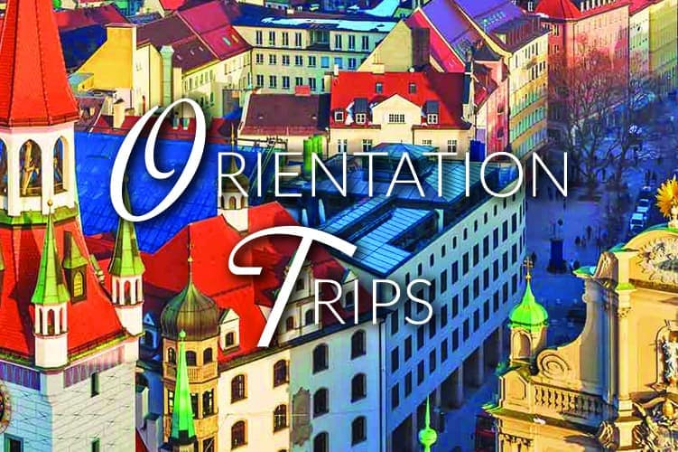 music contact international orientation trips