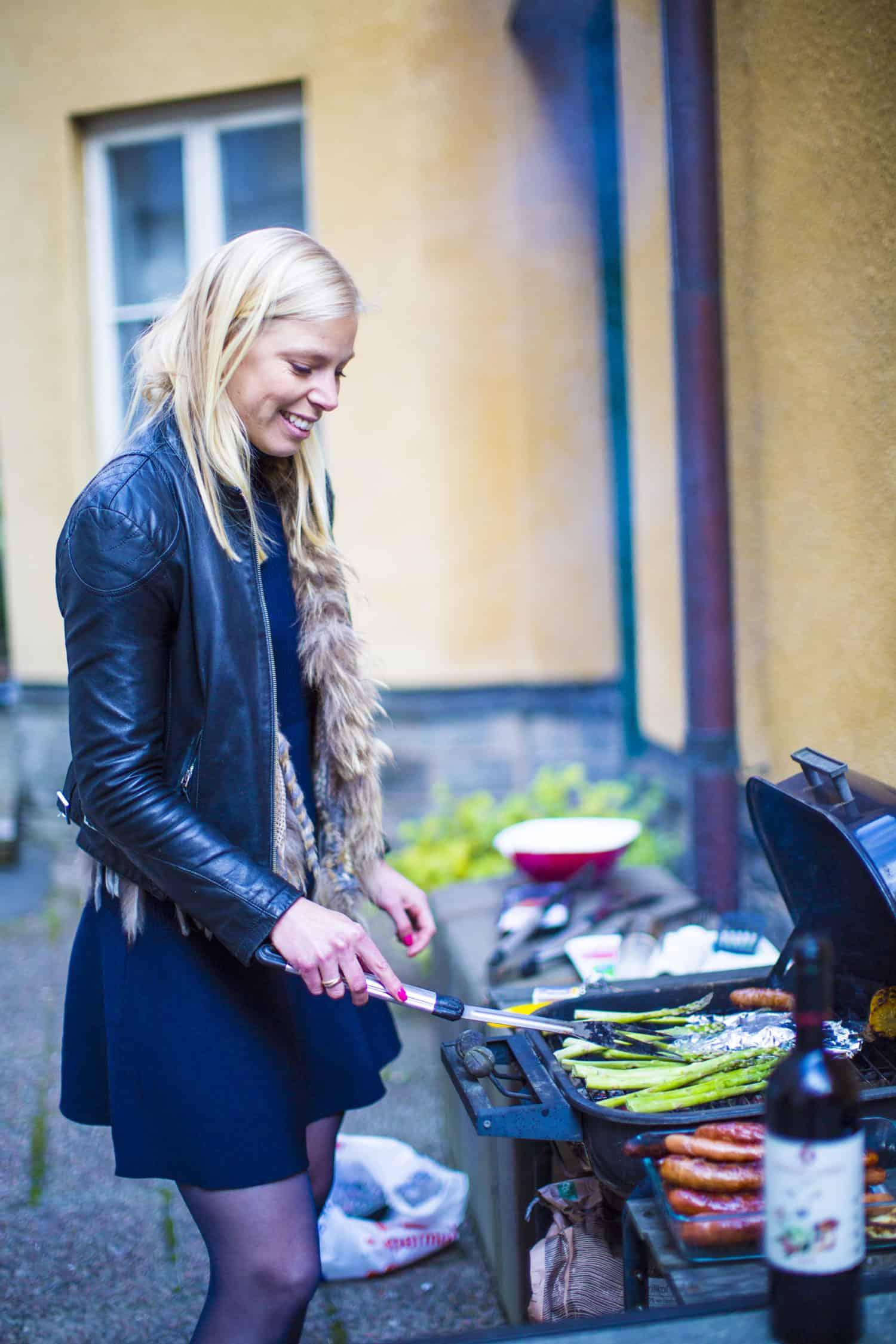 Lovisa grillar Hungry Wines kadarka