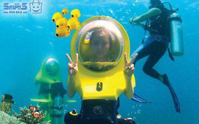 اسکوتر زیر دریایی کلوپ ۵ ستاره