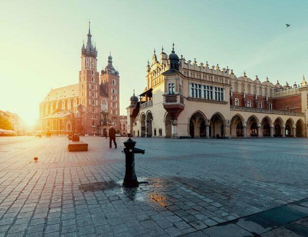 Krakow Main Square Market