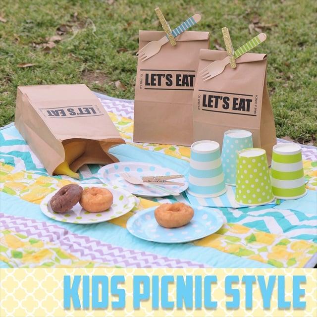 DIY Idea キッズピクニック スタイル : Kids Picnic Style
