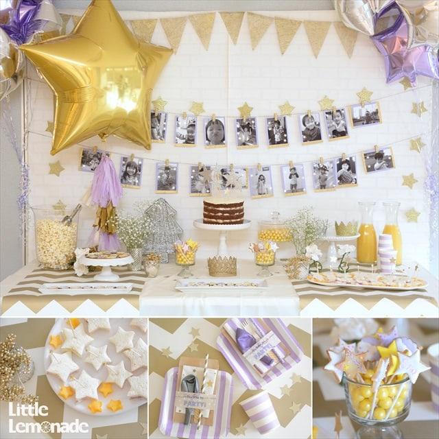 星のパーティー : Twinkle Stars Themed Party