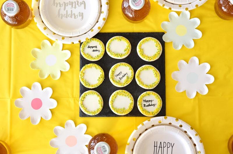 Mimosa Birthday Party – ミモザテーマのバースデイパーティー