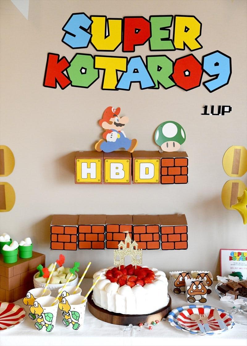 Super Mario Birthday : スーパーマリオテーマのバースデイ